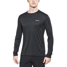 Marmot Windridge - Camiseta de manga larga Hombre - negro